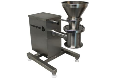 Laboratory Scale Cone Mill Inlet